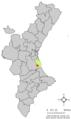 Localització de Corbera respecte del País Valencià.png