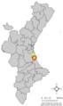 Localització de Fortaleny respecte del País Valencià.png