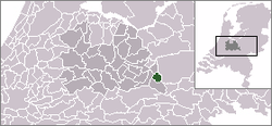 Location of Veenendaal
