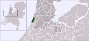 Bentveld - Image: Locatie Zandvoort