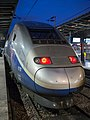 Locomotive 2 of train 4710, TGV Duplex at Gare de l'Est, Paris 20131222 1.jpg