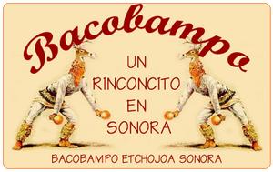 Cáhita - Logo featuring images of Cáhita dancers