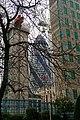 London - St. Botolph Street - View West on Gherkin.jpg