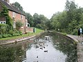 Looking back towards Coalport Museums from a point near the Tar Tunnel - geograph.org.uk - 1456718.jpg