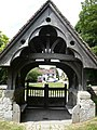 Looking through the lychgate - geograph.org.uk - 870677.jpg
