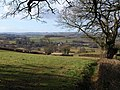Looking towards the Tone valley from Langford Heathfield - geograph.org.uk - 1700311.jpg