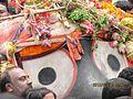 Lord Shri Jagannath during Pahandi.jpg