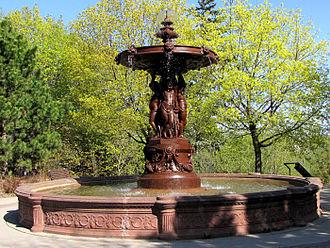 Mathurin Moreau - Lord Strathcona Fountain, Ottawa, Ontario, Canada