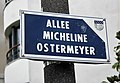 Lorient - allée Micheline Ostermeyer - plaque de rue.jpg
