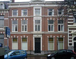 Conrad Theodor van Deventer - Image: Louis Couperus Surinamestraat 20