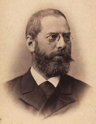 Louis Hasselriis - Louis Hasselriis photographed by Ludvig Grundvig