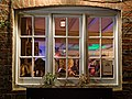 Lower bar window of Black Horse Inn, Nuthurst, West Sussex 02.jpg