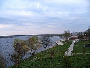 Loyew - Dnepr river in Loyew