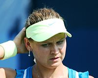 Lucie Šafářová at the 2010 US Open 03.jpg
