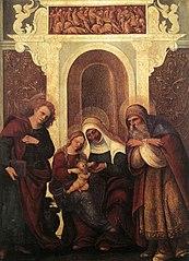 Vierge à l'Enfant avec saints