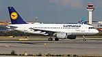 Lufthansa Airbus A319-100 (D-AILC) at Frankfurt Airport.jpg