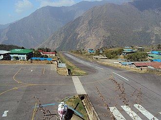 Tenzing–Hillary Airport - Image: Lukla Airport April 2010