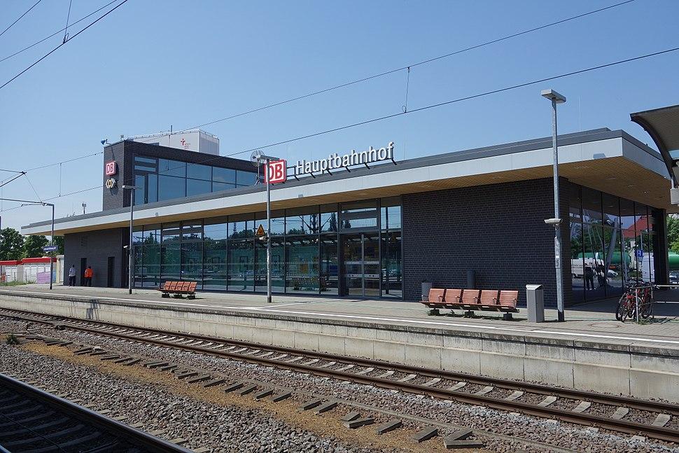 Lutherstadt Wittenberg Hauptbahnhof (1)