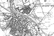 A map of Luton from 1888