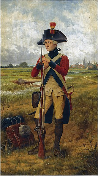 Battle of Turnhout (1789) - Portrait of a Patriot (1902): a Belgian rebel during the battle.