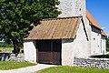 Lychgate da igrexa de Viklau.jpg