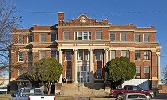 Lynn County, Texas - Image: Lynn county courthouse 2009