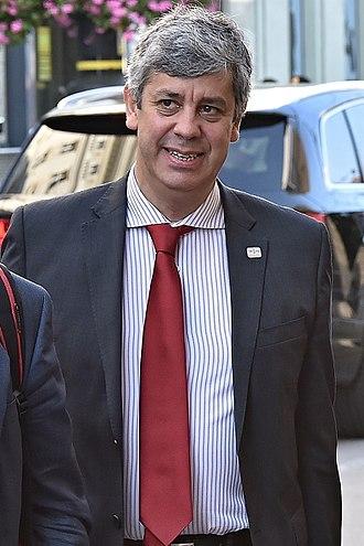 Eurozone - Eurogroup President Mário Centeno