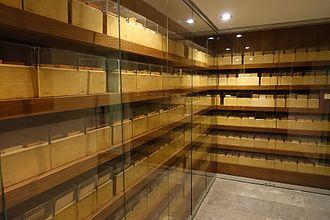 """Mémorial de la Shoah - The """"Jewish Files"""""""