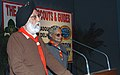 """M.S. Gill delivering the Presidential address at the """"Prime Minister's Shield Competition Rally"""", organized by Bharat Scouts and Guides at Nehru Museum, in Delhi on December 19, 2009.jpg"""