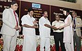 M. Veerappa Moily presented the NTPC executive training certificate, at the inauguration of the Induction Programme of Executive Trainee-2012 Batch, in New Delhi. The Minister of State for Power (1).jpg