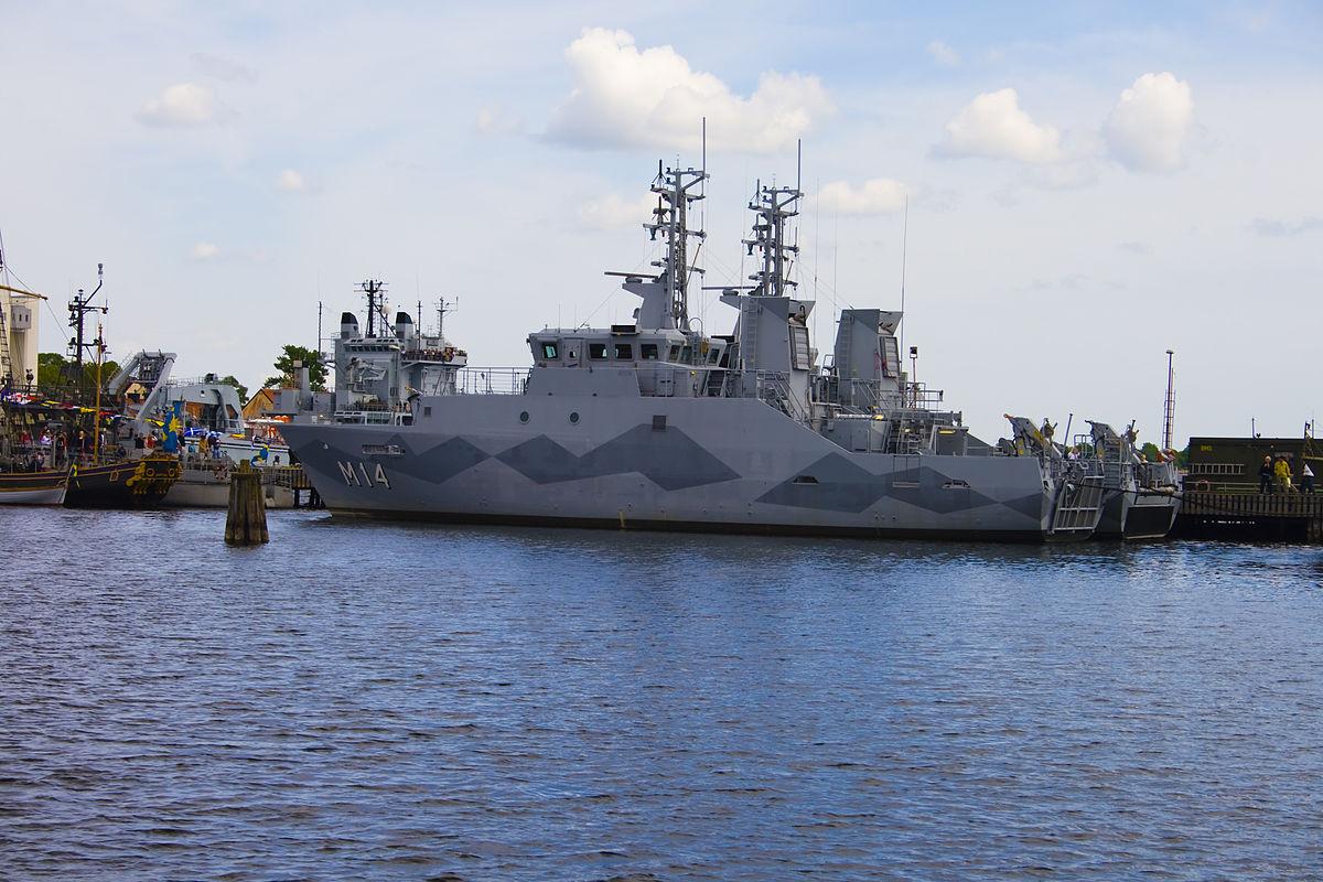styrs u00f6-class mine countermeasures vessel