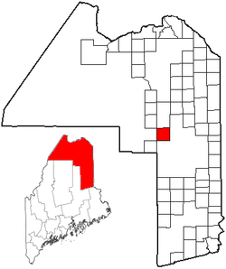 Location of Masardis, Maine