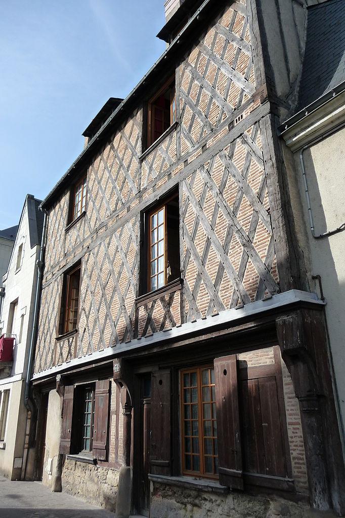 fichier mh 34 rue blanqui tours fa ade sud jpg wikip dia. Black Bedroom Furniture Sets. Home Design Ideas