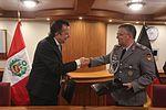 MINISTERIOS DE DEFENSA DEL PERÚ Y ALEMANIA FIRMARON ACUERDO DE COOPERACIÓN INSTERINSTITUCIONAL EN MATERIA DE DEFENSA (26901184623).jpg