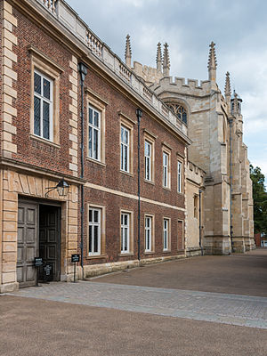 A. S. F. Gow - Eton College, where Gow taught between 1914 and 1925