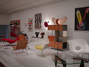 Postmodern art - Image: MOMA chairs 2