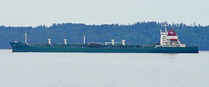 Sea Witch (container ship) - The MV Chemical Pioneer at Searsport, ME