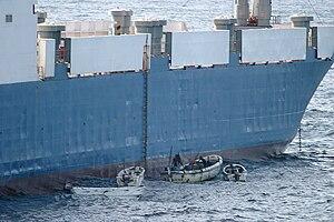 MV Faina - Image: MV Faina pirates