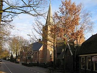 Maartensdijk Town in Utrecht, Netherlands