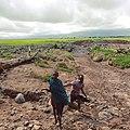 Maasai kids running the fields of Ngorongoro region.jpg