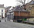 Maastricht2015, Graanmarkt-Stokstraat, wachthuis OLV-poort.jpg