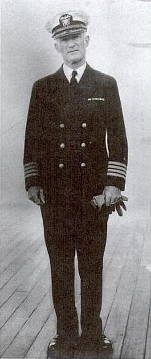 MacGillivray Milne - Milne aboard the USS Arizona.