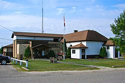 Township office in Vermilion Bay