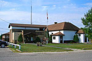 Machin, Ontario - Township office in Vermilion Bay