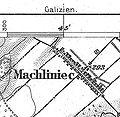 Machliniec from 1877 Bolechow map.jpg