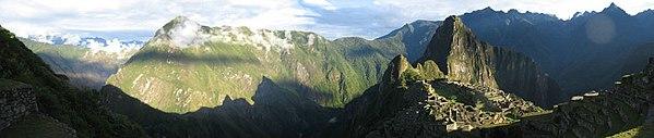 Panoramic Photo of Machu Picchu III.