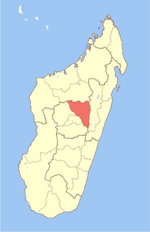 Analamanga - Image: Madagascar Analamanga Region