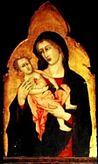Madonna jacopo di mino del pellicciaio 1342 Sarteano