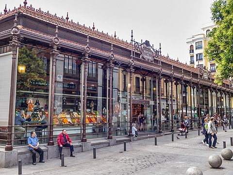Madrid Mercado de San Miguel DavidDaguerro