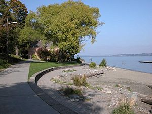 Madrona Park (Seattle) - Madrona Park in 2004